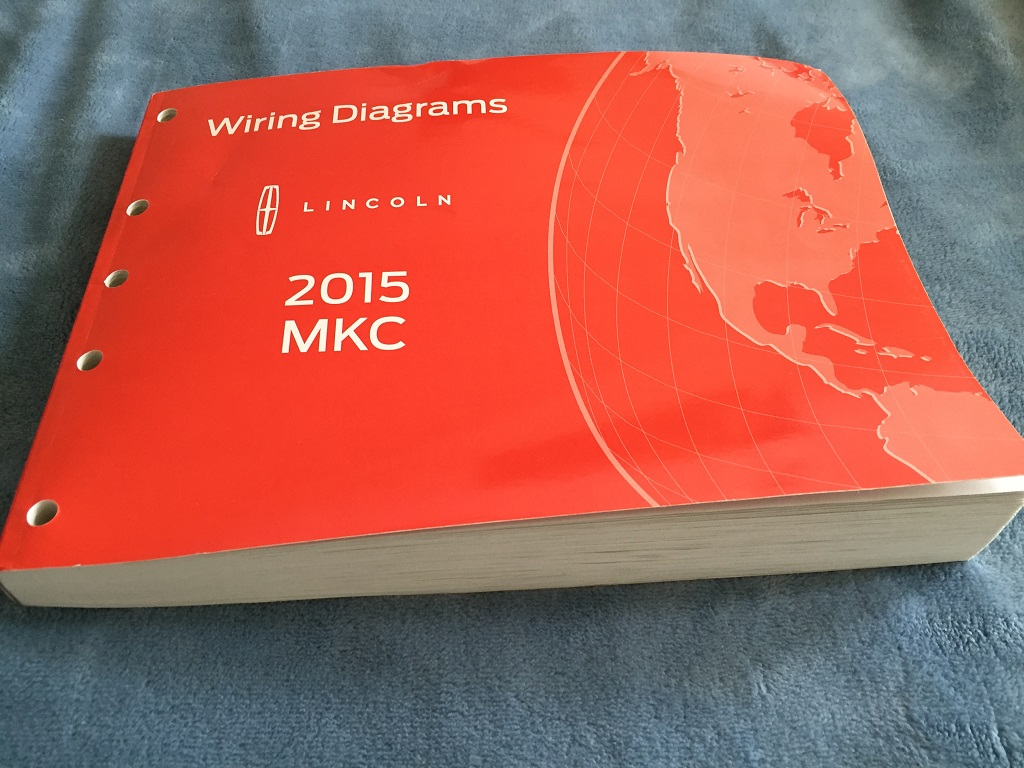 2015 Mkc Wiring Diagrams Book