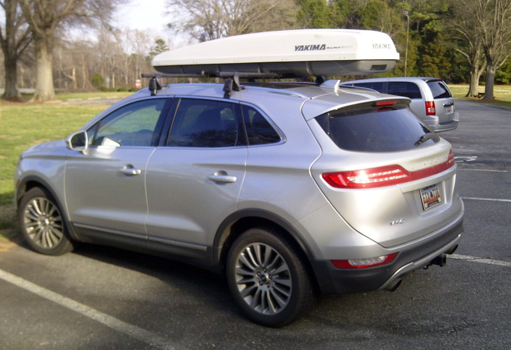 Yakima Roof Rack Installed Lincoln Mkc Forum